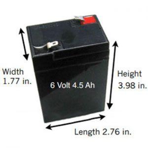 Olovni akumulator za hranilice