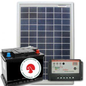Solarni set za vikendicu/ čeku u lovištu / električni pastir/ punjač za mobitel/ punjač za akumulator