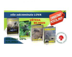 Paket filmova LOV na divlje svinje