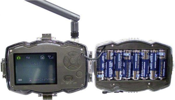 10 Mio. Pixel GSM-Modul, Black LEDs Kamera