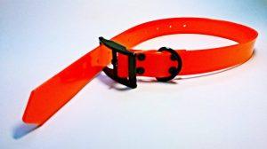 Ogrlica za lovačkog psa narančasta