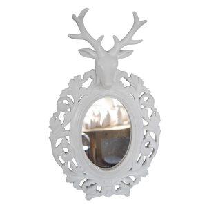 Zidno ogledalo s glavom jelena